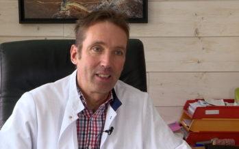 Accidents de skis: une matinée  avec le médecin de Thyon 2000