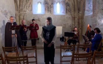 Au son de la vielle, la musique médiévale renaît au cœur du château de Tourbillon