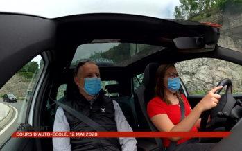 [No comment] les masques, nouvelle ceinture de sécurité des apprentis conducteurs