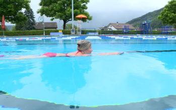Tiède reprise pour les piscines valaisannes