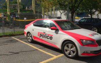 La police cantonale dans les travées de la Foire du Valais