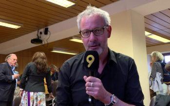 Jérôme Meizoz reçoit le prix de la Fondation Rouiller