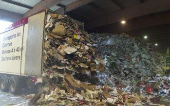 Carton recyclé: effondrement du prix