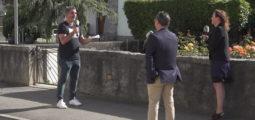 Rencontre avec la syndique de Rennaz et le président de Port-Valais