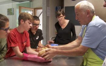 Semaine du goût: les élèves du CO Bagnes-Vollèges deviennent boulangers d'un jour