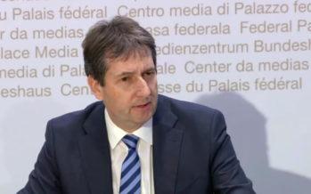 André Simonazzi, le vice-chancelier et porte-parole valaisan du Conseil Fédéral