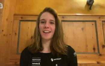 «Je me rends compte que Cortina n'est plus une idée» témoigne la skieuse Camille Rast