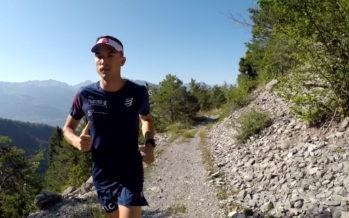 Swiss Peaks Trail: Extrait de notre portrait du traileur Mick Nançoz