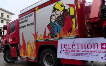 Téléthon: Les pompiers, en avance pour la récolte de fonds cette année, mettent en garde sur de possibles arnaques