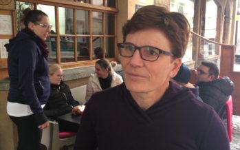 """Brigitte Wolf: """"Dans le Haut-Valais, l'écart entre Maret et Reynard est grand mais les villes doivent encore se prononcer"""""""