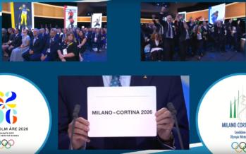 Milano/Cortina accueillera les Jeux olympiques d'hiver en 2026!