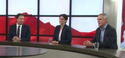 Après deux ans et demi de présidence, entretien avec Philippe Varone, Anne-Laure Couchepin Vouilloz et Éloi Rossier