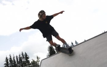 Hors-cadre avec le snowboarder Pat Burgener
