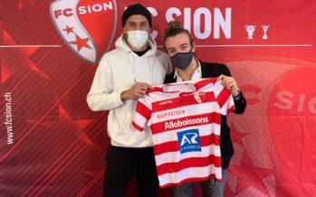 FC Sion: le retour de Léo Lacroix