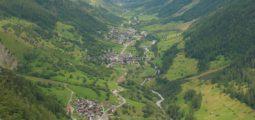 Remaniement parcellaire: de 446 m2 à 18'300 m2 dans le Lötschental