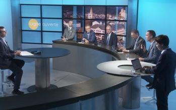 Ligne ouverte en compagnie des 5 membres du Conseil d'Etat valaisan