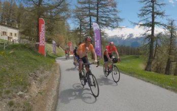 """Cyclotourisme: Moosalp, premier géant gravi pour """"Climb The Giants"""""""