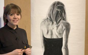 L'artiste Murzo inspirée par une œuvre américaine