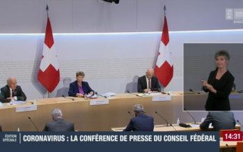 Conseil fédéral: pas de nouvelles mesures