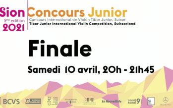 FINALE: CONCOURS INTERNATIONAL DE VIOLON TIBOR JUNIOR