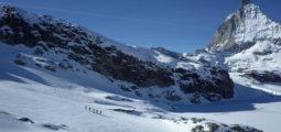 Visite à l'équipe de Suisse de ski-alpinisme à Zermatt
