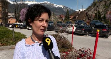 """Frédéric Favre: """"C'est le meilleur score d'un PLR dans le Haut-Valais"""" Sonia Tauss-Cornut"""
