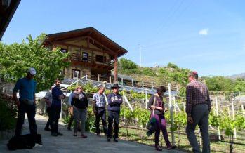 Le val d'Aoste, avec sa cinquantaine d'exploitations qui pratiquent l'agritourisme, inspire le Valais