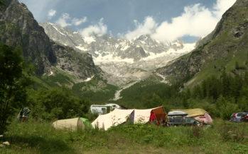«On a créé avec Michel le Camping des Glaciers petit à petit, en commençant avec pic et brouette», se souvient Agathe Darbellay