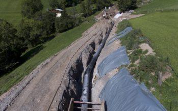 Inauguration: rénovée, la centrale hydroélectrique de Vouvry produit plus grâce à un nouveau tracé de la conduite