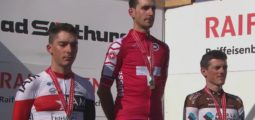 Doublé valaisan historique: Sébastien Reichenbach champion de Suisse de cyclisme sur route, devant Simon Pellaud