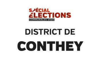 Résultats district de Conthey