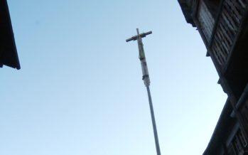 Après un an d'attente, Grimentz retrouve sa croix
