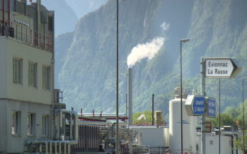BASF, abattoirs de Martigny, Télé Mont-Noble, Bout'rions… Les temps forts du jour en bref et en images