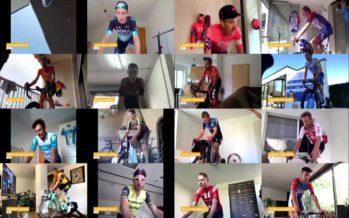 E-Tour de Suisse: course virtuelle, souffrance réelle