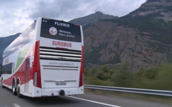 Concurrence des transports bon marché: les cars Flixbus desservent deux villes en Valais, Sion et Martigny