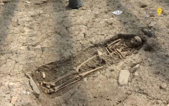 A Saint-Maurice, les promoteurs sont tombés sur des milliers d'os (datant du VIe siècle): les archéologues ont pris le relais