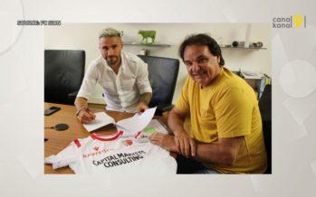 Valon Behrami est arrivé à Sion. Le footballeur tessinois a signé pour deux ans