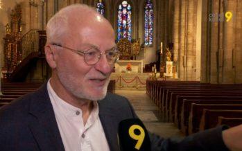 Pour la dernière fois, Bernard Héritier dirigera le Choeur des collèges de Sion. Ce sera jeudi à la cathédrale