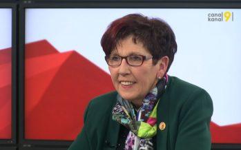 Présidence du Grand Conseil: Anne-Marie Sauthier-Luyet va passer la main. Bilan de douze mois à la tête du Parlement