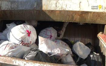 Tri de déchets: bilan réjouissant un an après l'introduction dans le Valais romand de la taxe au sac