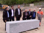À Brigue, UniDistance et la Haute École à Distance ont posé la première pierre de leur nouveau campus