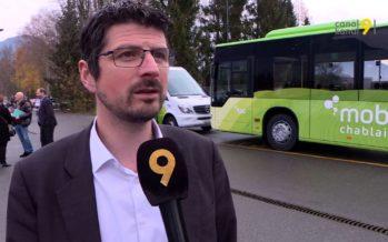 MobiChablais: «C'est un projet qui était indispensable pour la région!», note Yannick Buttet