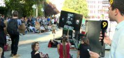 «Il y a urgence!» Une nouvelle fois, les jeunes sont descendus dans la rue pour le climat, à Sion comme dans 107 pays de la planète