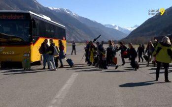 Le plus grand échange linguistique de Suisse se déroule cette semaine pour des écoliers de Berne et du Valais