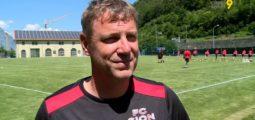 Le FC Sion a repris ce lundi après-midi le chemin de l'entraînement. Interview du nouveau coach Stéphane Henchoz