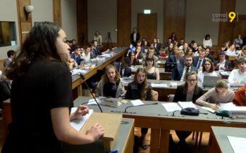 Les collégiens ont endossé le costume de délégués à l'ONU pour la 27e édition du Forum annuel de la Planta