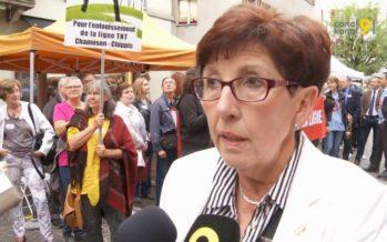 «J'aimerais que tous les Valaisans se rendent compte de l'impact de la ligne THT Chamoson-Chippis», déclare la présidente du Grand Conseil