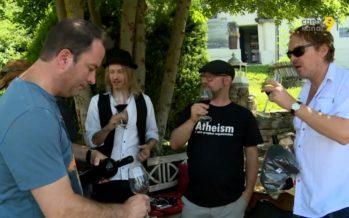 «On est tous assez fans de vins et de gastronomie!» Le Merlot de Gotthard aux tonalités rock sortira cet automne en édition limitée