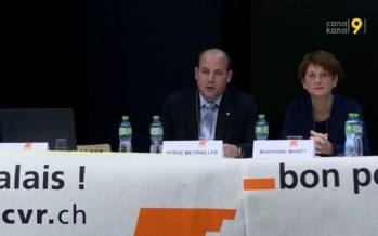 Le PDC du Valais se réorganise en attendant les élections fédérales, sous la coordination de Stéphane Pillet