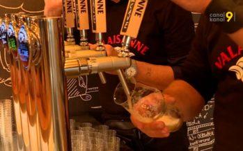 Plus de 1000 amateurs de bière ont passé les portes de la Brasserie valaisanne samedi à Sion
